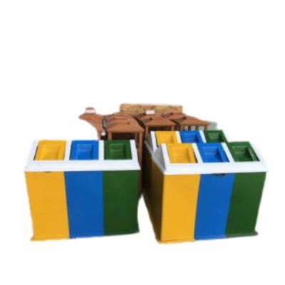 Thùng rác phân loại nhựa cao cấp