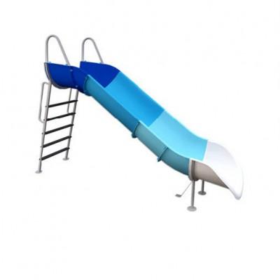 Mẫu sản phẩm cầu trượt hồ bơi composite cao cấp giá tốt