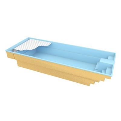 Hồ bơi bể bơi hình chữ nhật【composite frp】