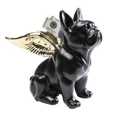Mô hình tượng thú vật chú chó composite