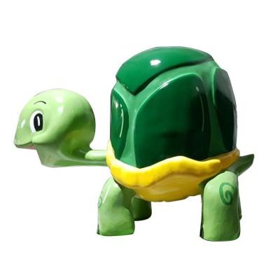Mô hình nhựa composite mô phỏng chú rùa đáng yêu