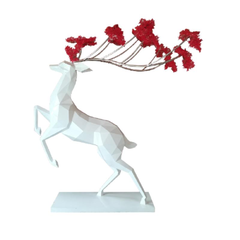 Mô hình hươu sừng hoa nghệ thuật độc đáo